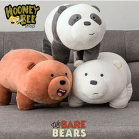 Boneka We bare bears 35cm ORIGINAL IMPORT MINISO EMPUK BANGET