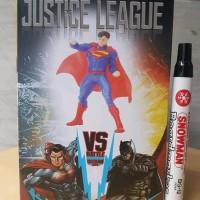 K 11959 MAINAN ACTION FIGURE SUPERMAN MINI STATUE MAN OF STEEL JUSTICE