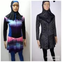 Baju Renang Dewasa Wanita Muslim Panjang Polos