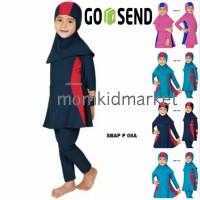 Baju Renang Anak Muslim Muslimah Ukuran 14 dan 15 Tahun Sulbi SBAP