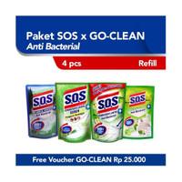 Paket SOS x Go-Clean Apel