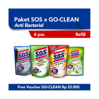 Paket SOS x Go-Clean Orange