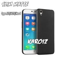 casehp Case Slim Black Matte Oppo A37 / Neo 9 Baby Skin Softcase Ultra