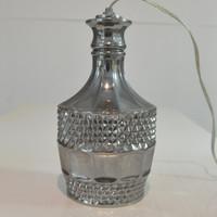 Lampu Gantung Botol Gelas Benedictine XO Silver