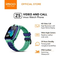 imoo Watch Phone Z5 - HD Video Call / Jam Anak Pintar / Garansi Resmi