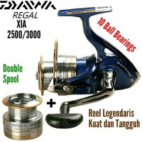62c21cb1a1b New Reel Pancing Daiwa Regal Xia 2500 - 3000 Double Spool 10Bb