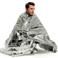 Aluminium Blanket Rescue Thermal Foil Selimut Emergency Darurat