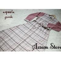 gamis aqella pink