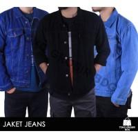 BEST SELLER!!! Jaket Jeans Pria Terbaru & Murah 3 Warna