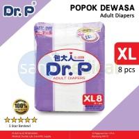 Dijual Dr P Popok Dewasa Basic Xl Per 8 Pcs