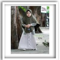 MANASIKANA - Baju muslim anak perempuan gamis anak AYDA SET SYAR I