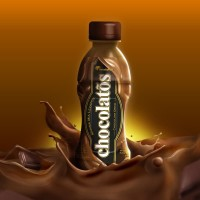 CHOCOLATOS DRINK RTD Kemasan Botol - 200 ml (ISI 4 BOTOL - BRINK2)