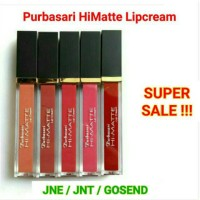 Purbasari Hi Matte Hi-Matte Lip Cream 1-5 lipcream lipstik hydra