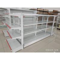 Rak untuk Minimarket dengan kapasitas 40Kg Per Level