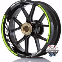 Stiker Velg Sticker Decal Motor Tiger Honda Racing Team warna stabil