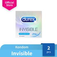 Durex Condom Invisible-2s-Kondom Ekstra Tipis - JKT