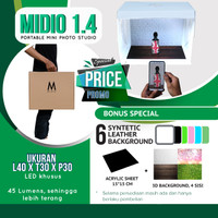MagicBox Midio Portable Mini Photo Studio Light Box
