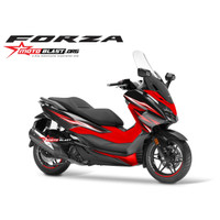 Decal stiker Forza 250 Black Deluxe