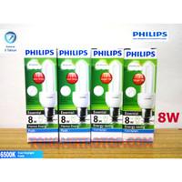 Lampu Philips Essential 8 Watt 8Watt cahaya Putih