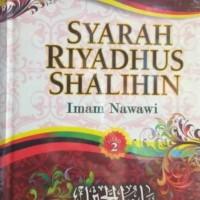 Buku Hadits Syarah Riyadhus Shalihin Jilid 2
