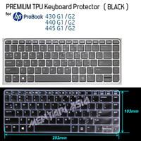 Keyboard Protector HP ProBook 430 440 G1 G2 - PREMIUM TPU BLACK