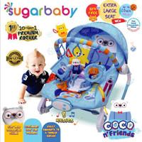 Sugar Baby Baby Bouncer 10in1 Kursi Bayi / Premium Baby Rocker Coco