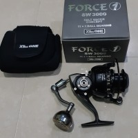 Reel spinning xtraone force 1 3000 power handle