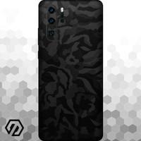 [EXACOAT] Huawei P30 Pro Skins 3M Skin / Garskin - Black Camo