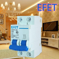 MCB Domae EFET 2 Phase (10A 16A 20A 25A)