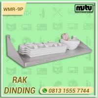 Rak Dinding Tempat Perlengkapan Dapur | Plate Shelf Stainless WMR-9P