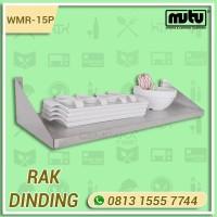 Rak Gantung Tempat Piring Stainless Steel Hotel Restoran Mutu WMR-15P
