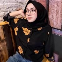Pakaian Wanita Muslim Dewasa Atasan Blouse Kemeja Monalisa Murah Baru