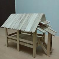 400 Koleksi Gambar Miniatur Rumah Joglo Dari Stik Es HD Terbaik