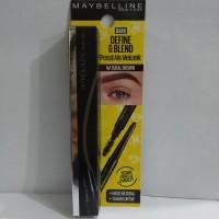 Maybelline New York Define & Blend Pensil Alis Mekanik Natural Brown
