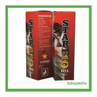 STAR BIO OIL - Minyak Herbal Untuk Retak Dan Patah Tulang