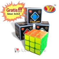 HG-Rubik 3x3 SPEED ed Glow in the dark VVGOO I ORI Yong Jun 3x3x3