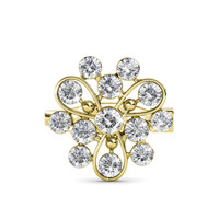 Vanda Brooch - Pin Bros Crystal Swarovski by Her Jewellery