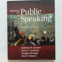 Principles of Public Speaking 17ed / Kathleen M.German