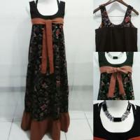 Longdress semi tanktop batik + katun