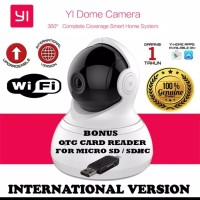 "Xiaomi YI Dome Camera 720P Wide Angle 360"" CCTV International Version"