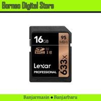Lexar Professional SDHC 16GB Speed 95mb