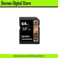 Lexar Professional SDXC 64GB Speed 95mb