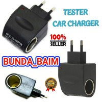 SAVER SWITCH CAR CHARGER TS95 / TESTER CAR CHARGER USB LIGHTER