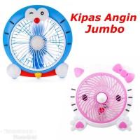 Kipas Angin JUMBO Karakter Hello Kitty Doraemon Lucu Cute Fan Besar He