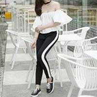 Promo Zara Pants - Zara Stripe Pants - Side Stripe Pants - Celana Zara