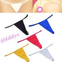 Promo Celana Dalam G-String / Thong Cd Wanita Murah - Random