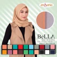 BELLA SQUARE Part 2 Jilbab Hijab Kerudung Scarf Segi Empat SegiEmpat