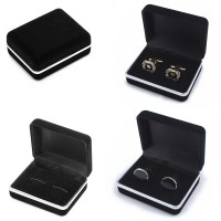 Velvet Square Earring Ring Cuff Links Storage Jewelry Packing