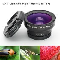Terlaris Mobile Phone Wide Angle Macro Lenses Universal Clip