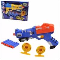 MAINAN PISTOL GUN DART BLASTER / MAINAN PISTOL MIRIP NERF